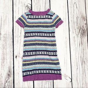 Arizona purple Sweater Dress 4y